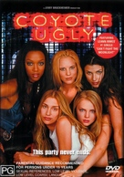 Coyote Ugly - Australian DVD cover (xs thumbnail)