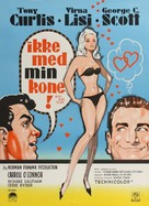 Not with My Wife, You Don't! - Danish Movie Poster (xs thumbnail)