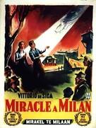 Miracolo a Milano - Belgian Movie Poster (xs thumbnail)