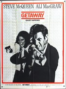 The Getaway - French Movie Poster (xs thumbnail)