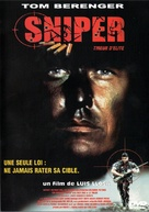 Sniper - French DVD movie cover (xs thumbnail)