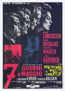 Seven Days in May - Italian Movie Poster (xs thumbnail)