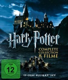 Harry Potter and the Chamber of Secrets - German Blu-Ray cover (xs thumbnail)