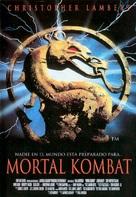 Mortal Kombat - Spanish Movie Poster (xs thumbnail)