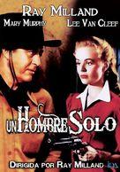 A Man Alone - Spanish DVD movie cover (xs thumbnail)
