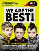 Vi är bäst! - French Movie Poster (xs thumbnail)