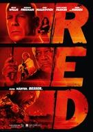 RED - German Movie Poster (xs thumbnail)
