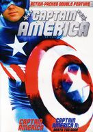 Captain America II: Death Too Soon - DVD cover (xs thumbnail)