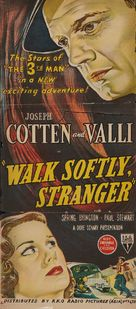 Walk Softly, Stranger - Australian Movie Poster (xs thumbnail)
