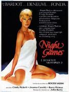 Night Games - Belgian Movie Poster (xs thumbnail)