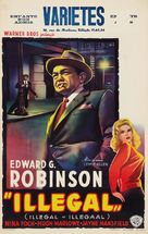 Illegal - Belgian Movie Poster (xs thumbnail)