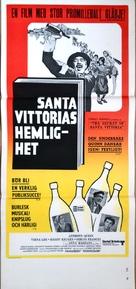 The Secret of Santa Vittoria - Swedish Movie Poster (xs thumbnail)