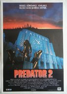 Predator 2 - Turkish Movie Poster (xs thumbnail)