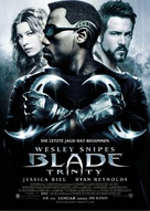 Blade: Trinity - German Advance poster (xs thumbnail)