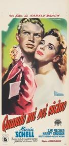 Solange Du da bist - Italian Movie Poster (xs thumbnail)