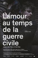 L'amour au temps de la guerre civile - Movie Poster (xs thumbnail)