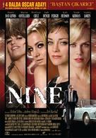 Nine - Turkish Movie Poster (xs thumbnail)