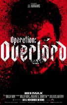 Overlord - German Movie Poster (xs thumbnail)