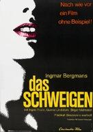 Tystnaden - German Movie Poster (xs thumbnail)