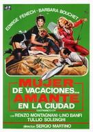 La moglie in vacanza... l'amante in città - Spanish Movie Poster (xs thumbnail)