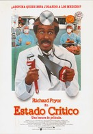 Critical Condition - Spanish Movie Poster (xs thumbnail)
