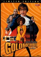 Austin Powers in Goldmember - South Korean DVD movie cover (xs thumbnail)