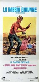 Badlands - Italian Movie Poster (xs thumbnail)