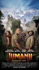 Jumanji: The Next Level - Estonian Movie Poster (xs thumbnail)