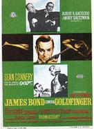 Goldfinger - Spanish Movie Poster (xs thumbnail)