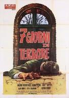 Sieben Tage Frist - Italian Movie Poster (xs thumbnail)