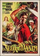La mort en ce jardin - Italian Movie Poster (xs thumbnail)