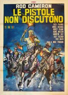 Le pistole non discutono - Italian Movie Poster (xs thumbnail)