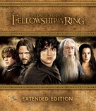 The Lord of the Rings: The Fellowship of the Ring - Blu-Ray movie cover (xs thumbnail)