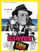 Cartes sur table - French Movie Poster (xs thumbnail)