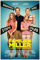 We're the Millers - Danish Movie Poster (xs thumbnail)