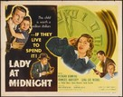 Lady at Midnight - Movie Poster (xs thumbnail)