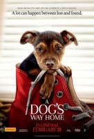 A Dog's Way Home - Australian Movie Poster (xs thumbnail)
