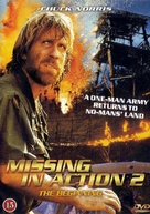 Missing in Action 2: The Beginning - Danish DVD cover (xs thumbnail)