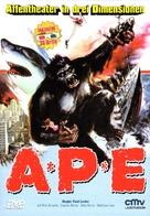 Ape - German DVD cover (xs thumbnail)