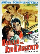 The Duel at Silver Creek - Italian Movie Poster (xs thumbnail)