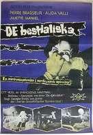 Les yeux sans visage - Swedish Movie Poster (xs thumbnail)
