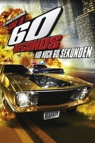 Gone in 60 Seconds - German Movie Cover (xs thumbnail)