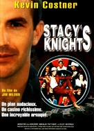 Stacy's Knights - French DVD cover (xs thumbnail)