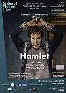 National Theatre Live: Hamlet - Polish Movie Poster (xs thumbnail)