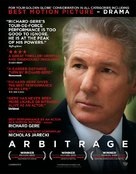 Arbitrage - For your consideration poster (xs thumbnail)