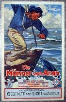 Man of Aran - German Movie Poster (xs thumbnail)