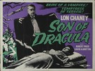 Son of Dracula - British Re-release poster (xs thumbnail)