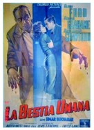Human Desire - Italian Movie Poster (xs thumbnail)