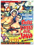Fair Wind to Java - Belgian Movie Poster (xs thumbnail)