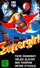Supergirl - German VHS movie cover (xs thumbnail)